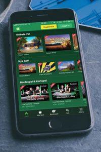 Unibet casino på mobilen