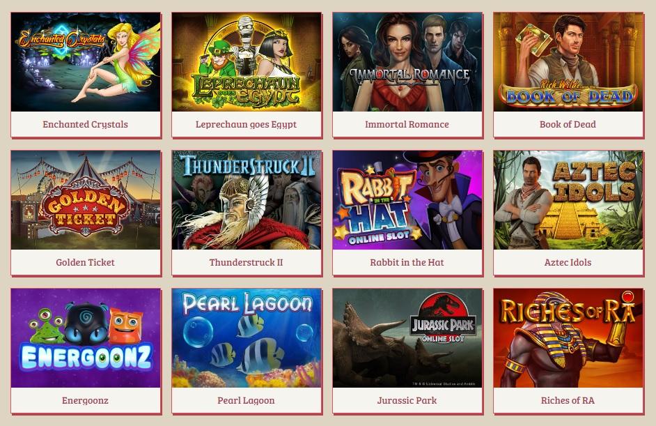 anna casino games