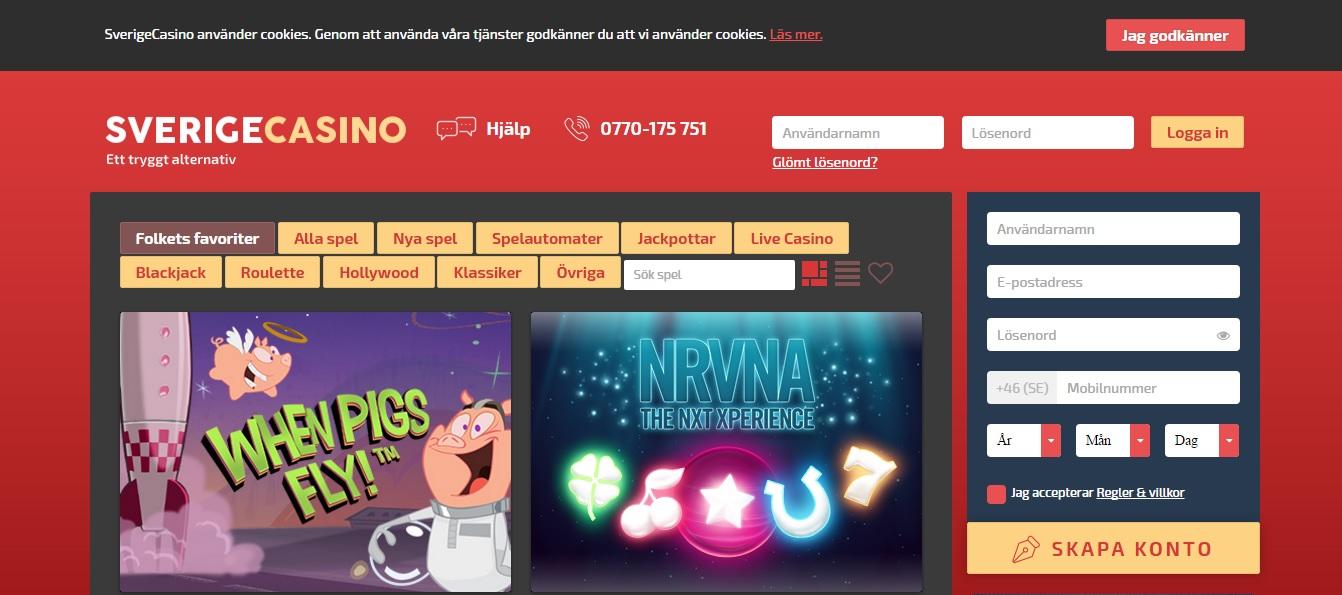 sverige homepage