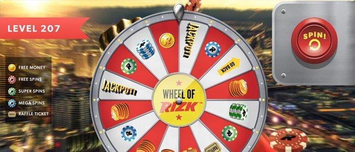 Wheel of Rizk hos Rizk casino