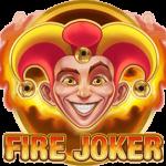 logo för spelautomaten Fire Joker