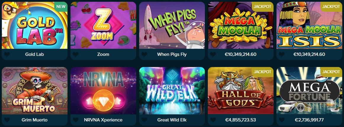 Casinoland games