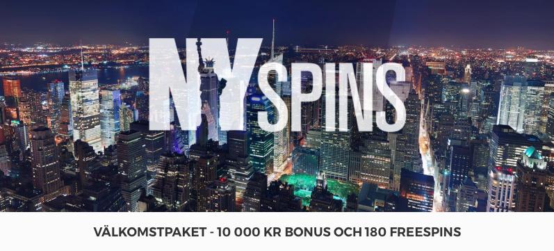 NYspins Casino Bonus