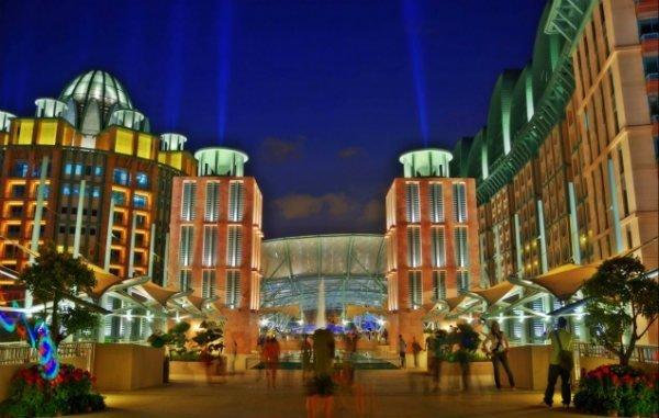 Casinot Resort World Sentosa i Singapore