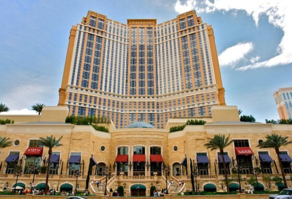 The Palazzo i Las Vegas, ett av världens 7 dyraste kasinon