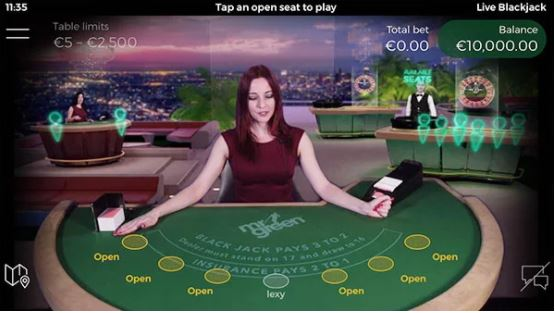 NetEnt och Mr Greens nya live casino