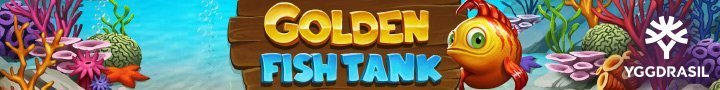 Golden Fishtank från Yggdrasil