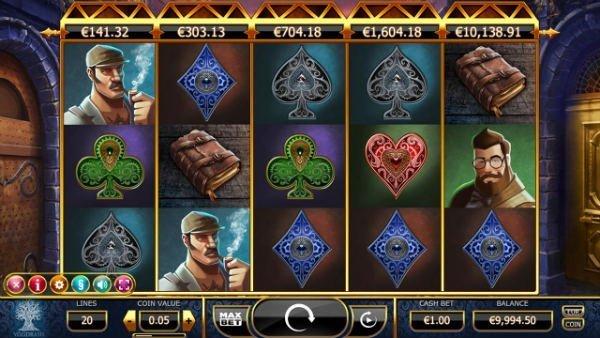 Spelautomat med 5 progressiva jackpottar