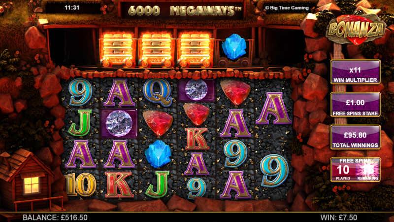 casino spelautomat bonanza
