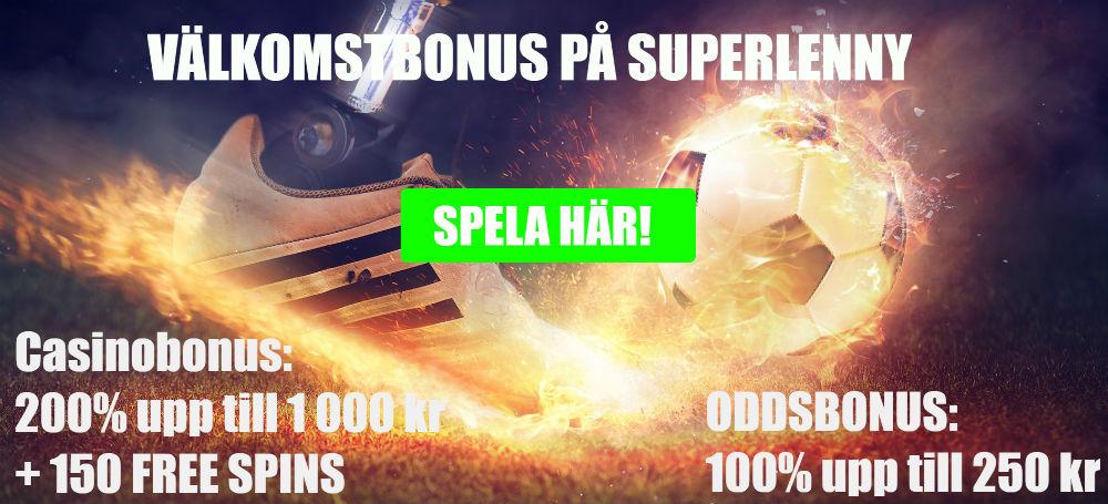 välkomstbonus superlenny.com
