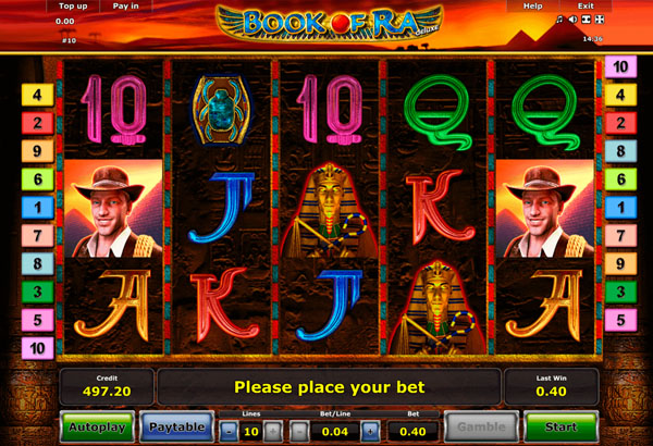 Book Of Ra Free Spins