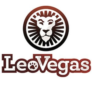 Logo för LeoVegas casino