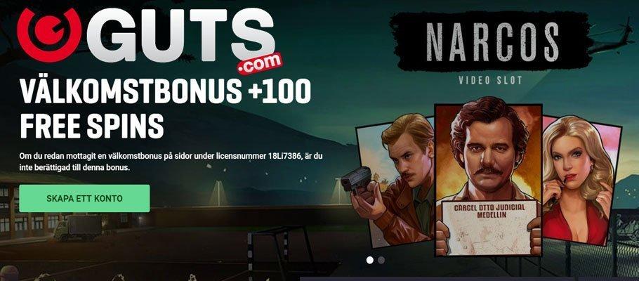 Narcos hos Guts casino