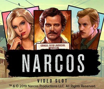 Intro för Narcos Videoslot