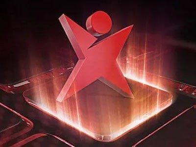 ikon för betsafe visar en simpel röd figur som sträcker ut armar och ben