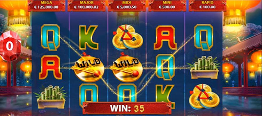 Blackjack video game