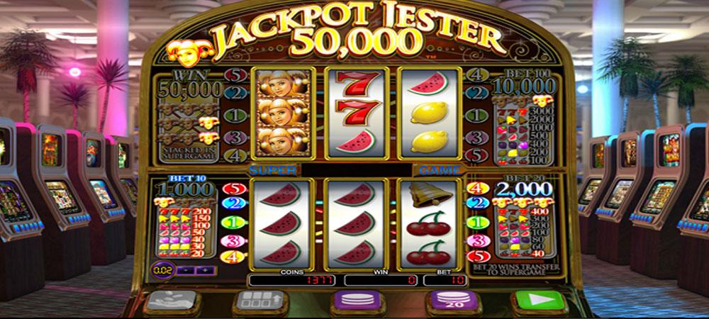 Jackpot Jester 50000 Slot Machine