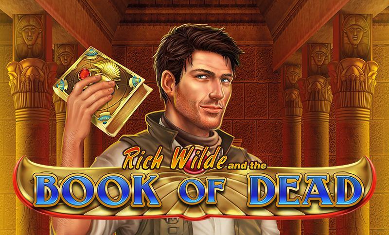 Book of Dead med huvukaraktären Rich Wilde