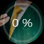 """Marknadsföring från Mr Green casino angående inga omsättningskrav med """"0%"""""""
