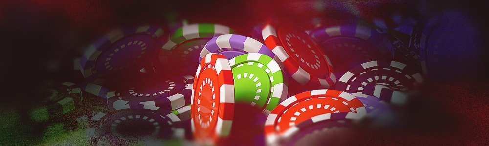 Pokermarker i olika färger