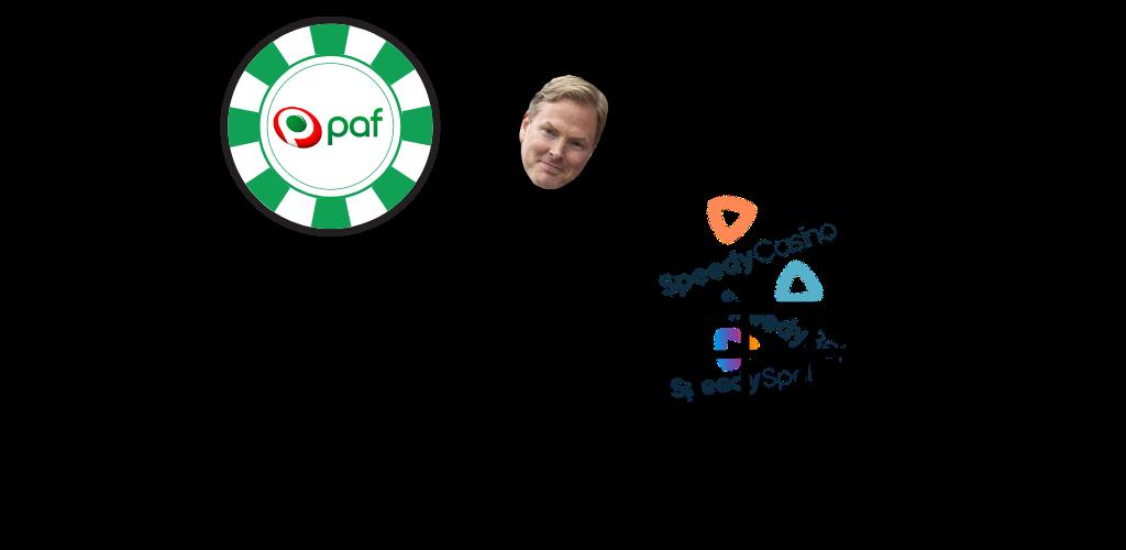 Paf köper spelföretag - erhåller sidorna Speedy casino, Speedy Spel och Speedy Bet